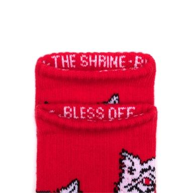 69c4121247 HUF X The Shrine – Wolf Socks